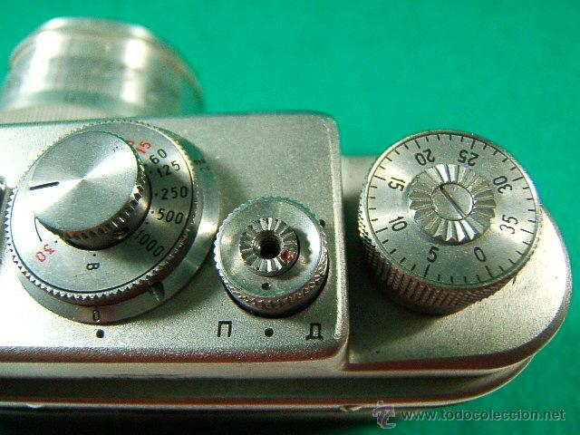 Cámara de fotos: ZORKI 4-Nº 67826126-OBJETIVO JUPITER 8-Nº 6760349-MADE USSR-URSS-PERFECTA COPIA LEICA-CAMARA FOTOS.. - Foto 4 - 40851029