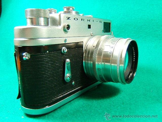 Cámara de fotos: ZORKI 4-Nº 67826126-OBJETIVO JUPITER 8-Nº 6760349-MADE USSR-URSS-PERFECTA COPIA LEICA-CAMARA FOTOS.. - Foto 5 - 40851029