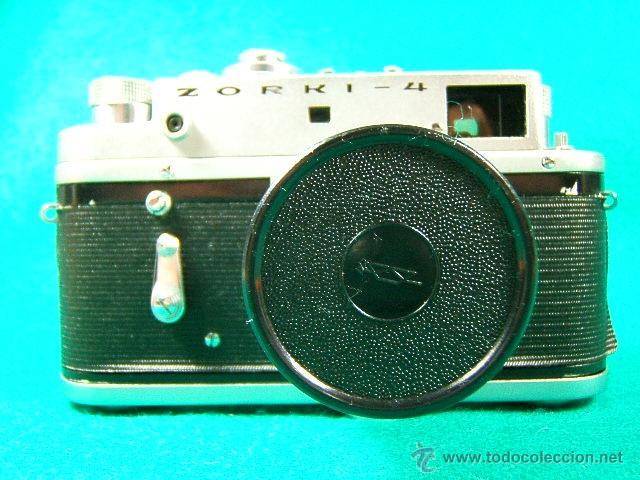 Cámara de fotos: ZORKI 4-Nº 67826126-OBJETIVO JUPITER 8-Nº 6760349-MADE USSR-URSS-PERFECTA COPIA LEICA-CAMARA FOTOS.. - Foto 9 - 40851029