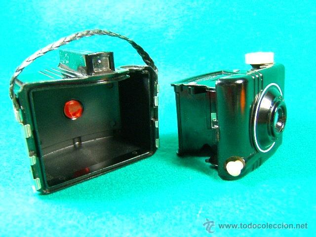 Cámara de fotos: KODAK BABY BROWNIE SPECIAL-COMPACTA CUADRADA MADE IN U.S.A.-MENISCO-BAQUELITA-CAMARA FOTOGRAFICA... - Foto 7 - 88615886