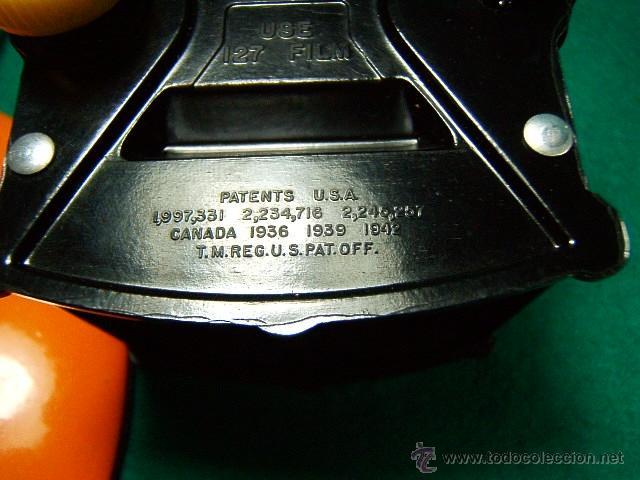 Cámara de fotos: KODAK BABY BROWNIE SPECIAL-COMPACTA CUADRADA MADE IN U.S.A.-MENISCO-BAQUELITA-CAMARA FOTOGRAFICA... - Foto 8 - 88615886