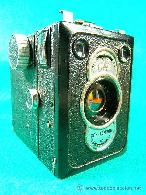 ZEISS IKON BOX TENGOR 55/2-CAJON-MADE IN D.R.P.-OBJETIVO GOERZ FRONTAR-FILM 6X9-CAMARA FOTOGRAFICA.. (Cámaras Fotográficas - Antiguas (hasta 1950))