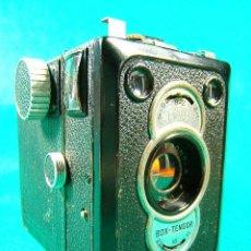 Cámara de fotos: ZEISS IKON BOX TENGOR 55/2-CAJON-MADE IN D.R.P.-OBJETIVO GOERZ FRONTAR-FILM 6X9-CAMARA FOTOGRAFICA... Lote 40873365