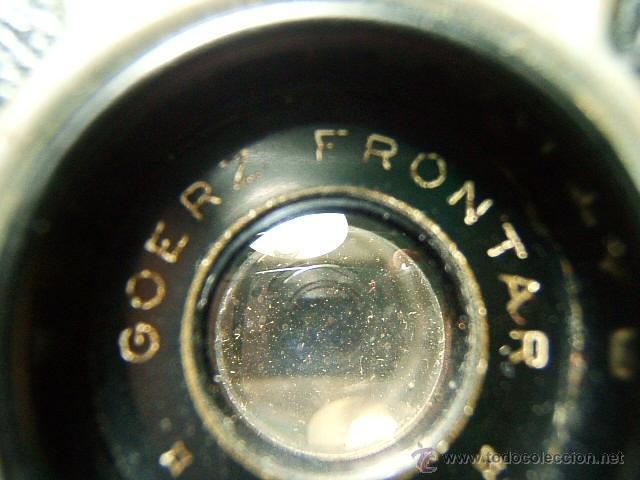 Cámara de fotos: ZEISS IKON BOX TENGOR 55/2-CAJON-MADE IN D.R.P.-OBJETIVO GOERZ FRONTAR-FILM 6X9-CAMARA FOTOGRAFICA.. - Foto 3 - 40873365