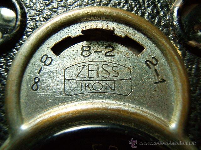 Cámara de fotos: ZEISS IKON BOX TENGOR 55/2-CAJON-MADE IN D.R.P.-OBJETIVO GOERZ FRONTAR-FILM 6X9-CAMARA FOTOGRAFICA.. - Foto 4 - 40873365