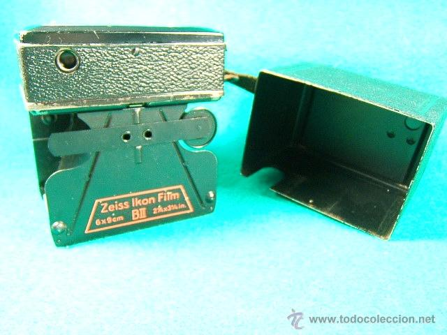 Cámara de fotos: ZEISS IKON BOX TENGOR 55/2-CAJON-MADE IN D.R.P.-OBJETIVO GOERZ FRONTAR-FILM 6X9-CAMARA FOTOGRAFICA.. - Foto 10 - 40873365