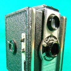 Cámara de fotos: CORONET TWELVE 20 COLOUR FILTER MODEL-FILM 120-620-USA FILM 120-620-2 DIAFRAGMAS-MADE IN ENGLAND... . Lote 40873521