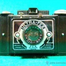 Cámara de fotos: ULTRA FEX FRANCE-OBJ:FEXAR OPTIC SPEC RETRACTIL-FILM 6X9-BAQUELITA ESTILO ART DECO-NO HIMALAYA.... Lote 40873879