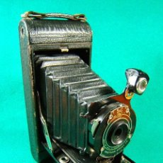Cámara de fotos: KODAK NO.IA POCKET-OBJETIVO KODEX Nº 1-EASTMAN MADE IN ROCHESTER NEW YORK USA-FUELLE-FILM A116-1919.. Lote 41051052