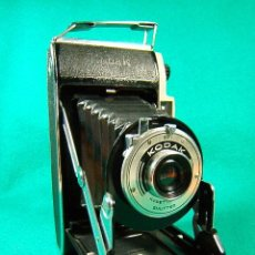 Cámara de fotos: KODAK JUNIOR I CAMERA-OBJETIVO KODETTE III SHUTTER-FUELLE MADE IN ENGLAND-17X10X14 CM-AÑO 1950. . Lote 41055615