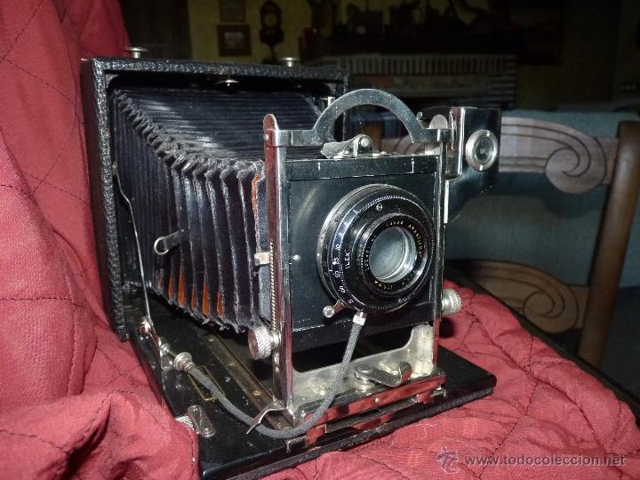 PRECIOSA CÁMARA DE FOTOS MUY ANTIGUA (Cámaras Fotográficas - Antiguas (hasta 1950))