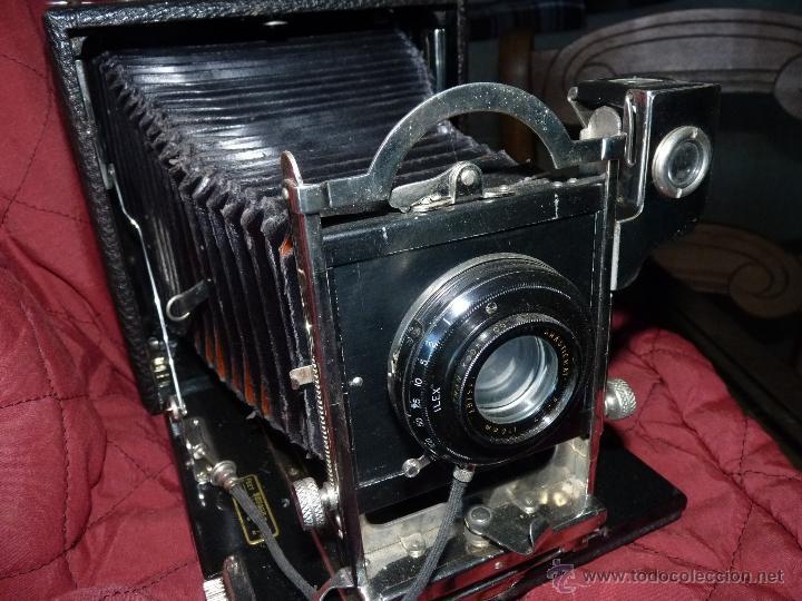 Cámara de fotos: PRECIOSA CÁMARA DE FOTOS MUY ANTIGUA - Foto 3 - 162899817