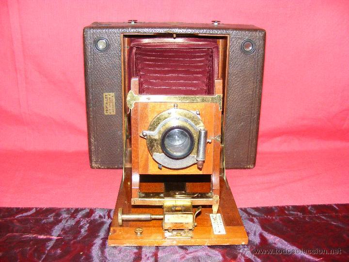 CAMARA ANTIGUA FRANCESA (Cámaras Fotográficas - Antiguas (hasta 1950))