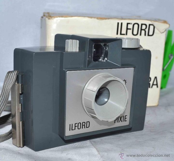 MUY RARA Y SENCILLA...ILFORD PIXIE, 127 FILM+CAJA..INGLATERRA 1966..BUEN ESTADO..FUNCIONA..UNICA (Cámaras Fotográficas - Antiguas (hasta 1950))