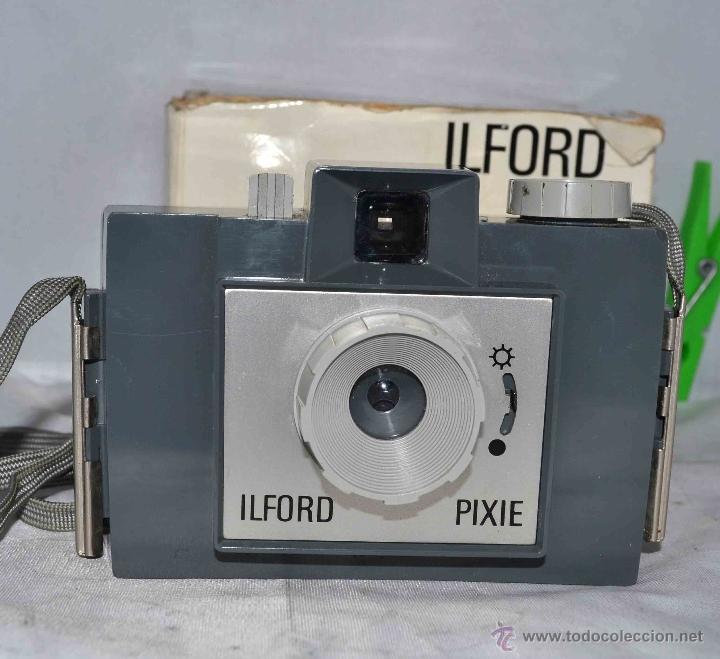 Cámara de fotos: MUY RARA Y SENCILLA...ILFORD PIXIE, 127 FILM+CAJA..INGLATERRA 1966..BUEN ESTADO..FUNCIONA..UNICA - Foto 2 - 41354197