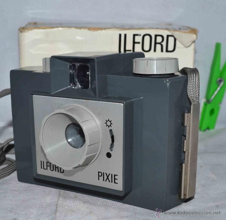 Cámara de fotos: MUY RARA Y SENCILLA...ILFORD PIXIE, 127 FILM+CAJA..INGLATERRA 1966..BUEN ESTADO..FUNCIONA..UNICA - Foto 3 - 41354197