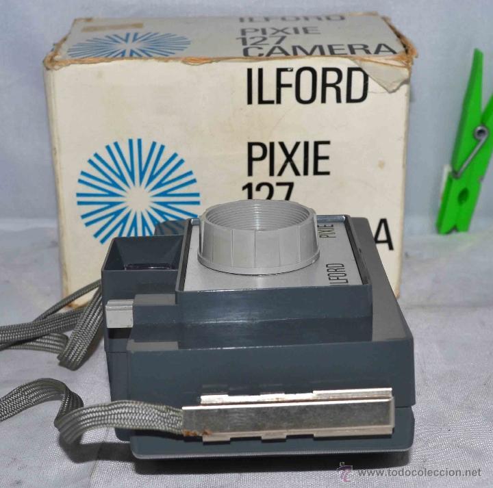Cámara de fotos: MUY RARA Y SENCILLA...ILFORD PIXIE, 127 FILM+CAJA..INGLATERRA 1966..BUEN ESTADO..FUNCIONA..UNICA - Foto 6 - 41354197