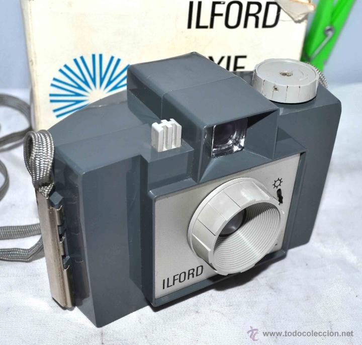 Cámara de fotos: MUY RARA Y SENCILLA...ILFORD PIXIE, 127 FILM+CAJA..INGLATERRA 1966..BUEN ESTADO..FUNCIONA..UNICA - Foto 12 - 41354197