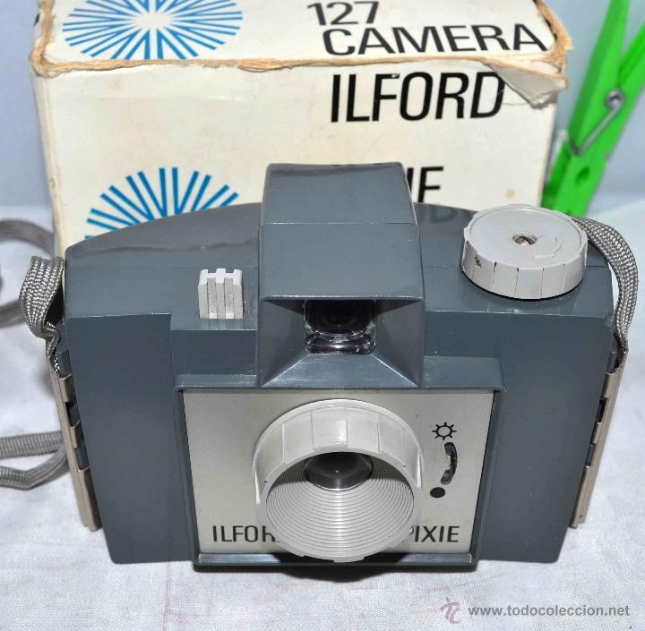 Cámara de fotos: MUY RARA Y SENCILLA...ILFORD PIXIE, 127 FILM+CAJA..INGLATERRA 1966..BUEN ESTADO..FUNCIONA..UNICA - Foto 13 - 41354197
