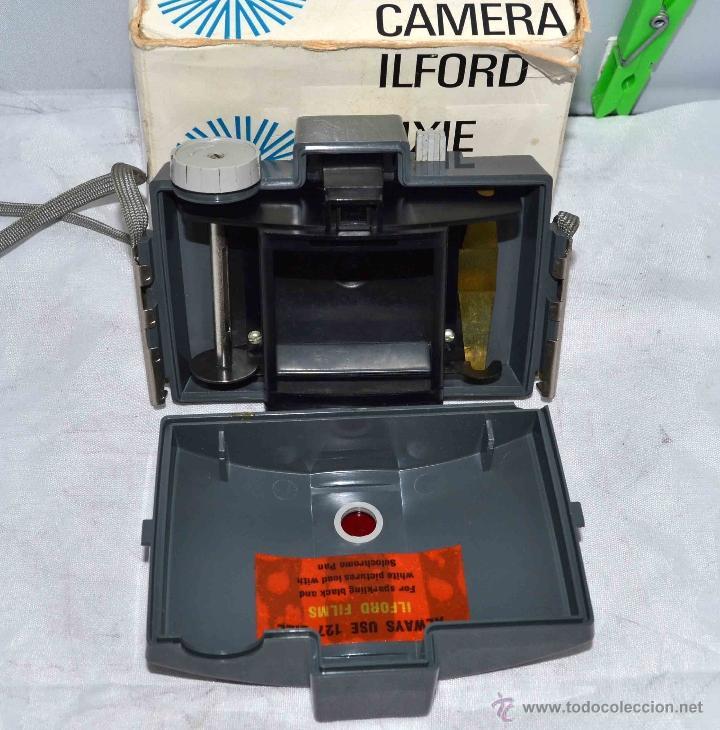 Cámara de fotos: MUY RARA Y SENCILLA...ILFORD PIXIE, 127 FILM+CAJA..INGLATERRA 1966..BUEN ESTADO..FUNCIONA..UNICA - Foto 17 - 41354197