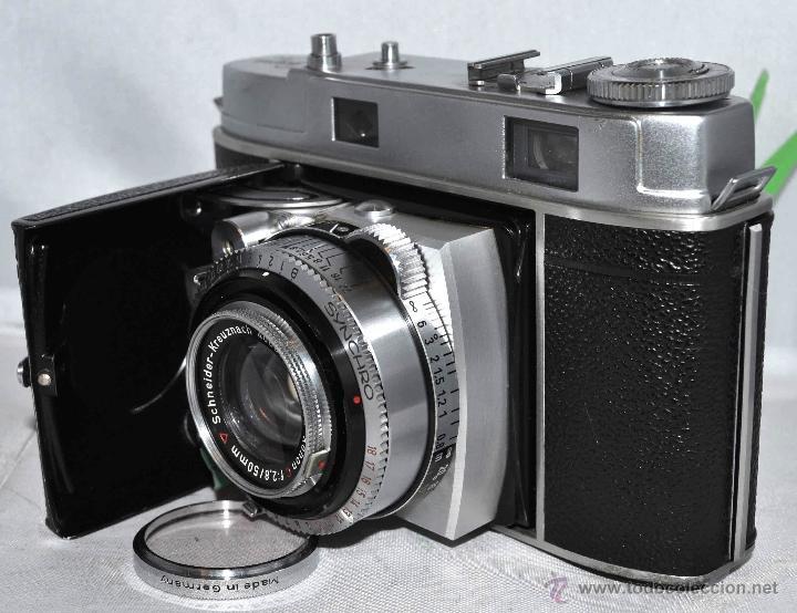Cámara de fotos: TELEMETRICA..KODAK RETINA II C +FUNDA(TYPE 020).Nº261965...ALEMANIA 1954..MUY BUEN ESTADO..FUNCIONA - Foto 2 - 42314142