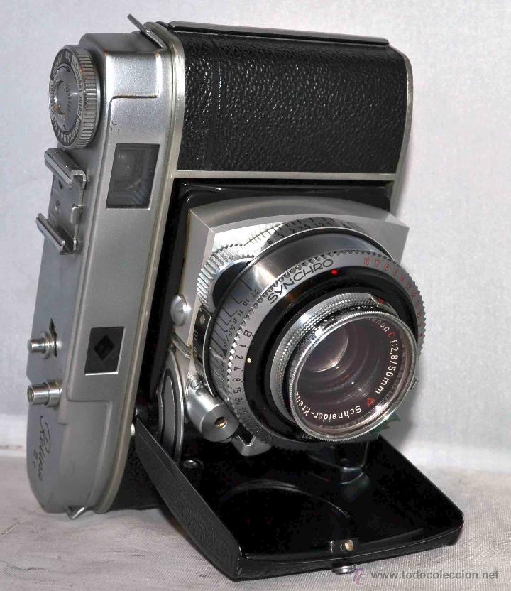 Cámara de fotos: TELEMETRICA..KODAK RETINA II C +FUNDA(TYPE 020).Nº261965...ALEMANIA 1954..MUY BUEN ESTADO..FUNCIONA - Foto 8 - 42314142