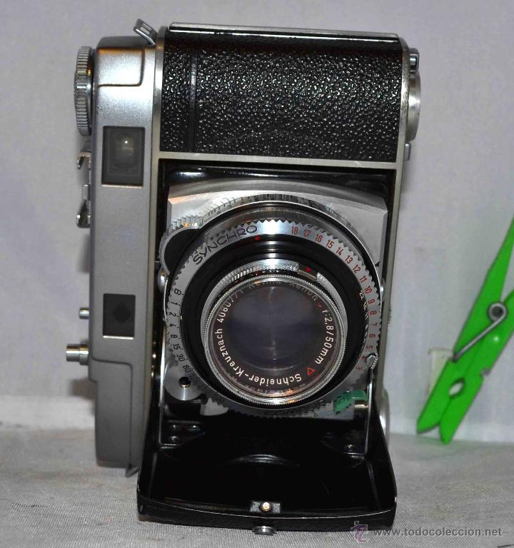 Cámara de fotos: TELEMETRICA..KODAK RETINA II C +FUNDA(TYPE 020).Nº261965...ALEMANIA 1954..MUY BUEN ESTADO..FUNCIONA - Foto 9 - 42314142