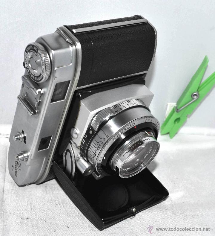 Cámara de fotos: TELEMETRICA..KODAK RETINA II C +FUNDA(TYPE 020).Nº261965...ALEMANIA 1954..MUY BUEN ESTADO..FUNCIONA - Foto 13 - 42314142