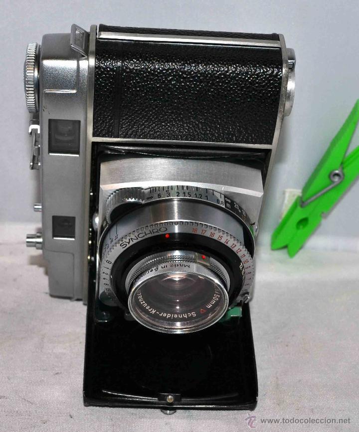 Cámara de fotos: TELEMETRICA..KODAK RETINA II C +FUNDA(TYPE 020).Nº261965...ALEMANIA 1954..MUY BUEN ESTADO..FUNCIONA - Foto 14 - 42314142