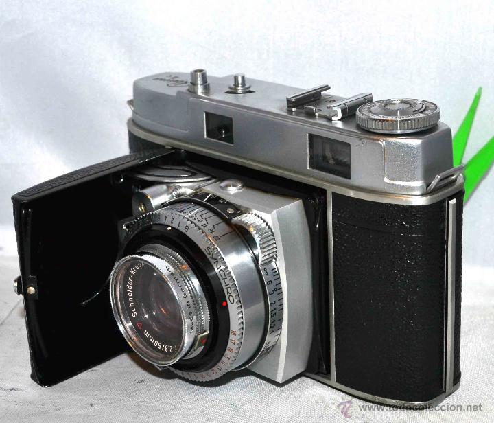 Cámara de fotos: TELEMETRICA..KODAK RETINA II C +FUNDA(TYPE 020).Nº261965...ALEMANIA 1954..MUY BUEN ESTADO..FUNCIONA - Foto 16 - 42314142