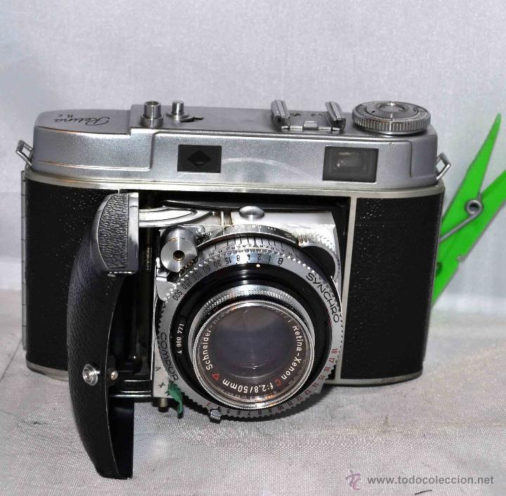 Cámara de fotos: TELEMETRICA..KODAK RETINA II C +FUNDA(TYPE 020).Nº261965...ALEMANIA 1954..MUY BUEN ESTADO..FUNCIONA - Foto 17 - 42314142
