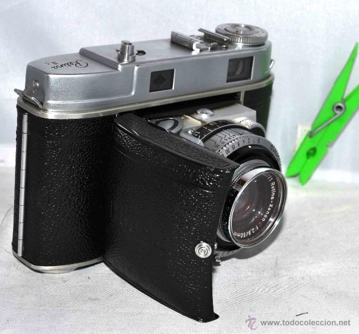 Cámara de fotos: TELEMETRICA..KODAK RETINA II C +FUNDA(TYPE 020).Nº261965...ALEMANIA 1954..MUY BUEN ESTADO..FUNCIONA - Foto 18 - 42314142