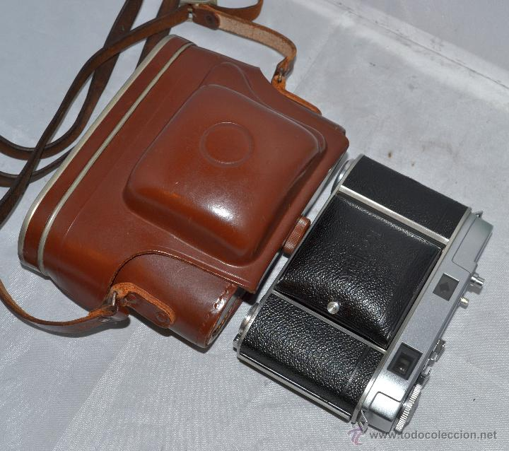 Cámara de fotos: TELEMETRICA..KODAK RETINA II C +FUNDA(TYPE 020).Nº261965...ALEMANIA 1954..MUY BUEN ESTADO..FUNCIONA - Foto 31 - 42314142