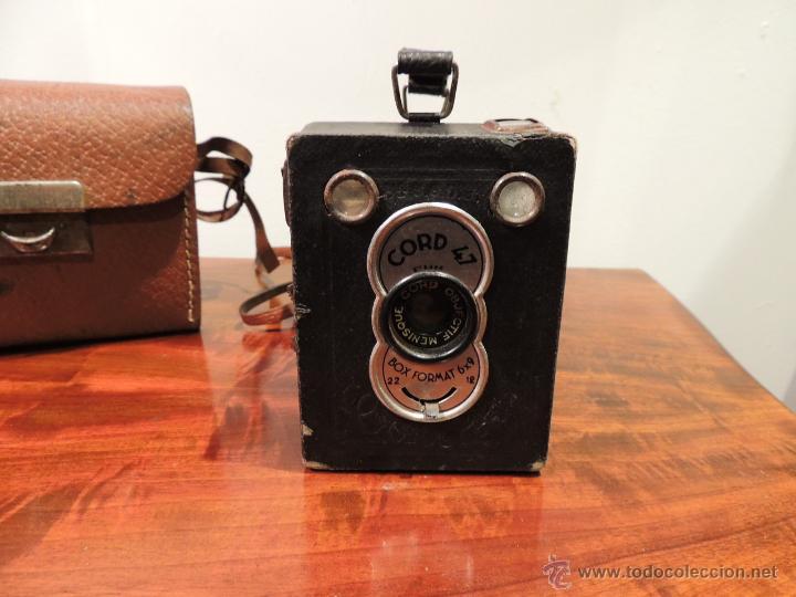 Cámara de fotos: CAMARA DE FOTOS CORD 47 CON SU FUNDA ORIGINAL - Foto 2 - 42368420