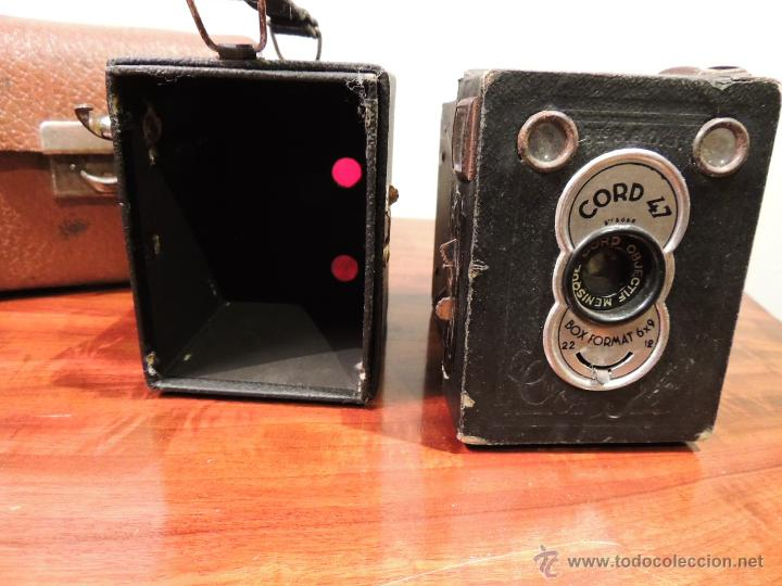 Cámara de fotos: CAMARA DE FOTOS CORD 47 CON SU FUNDA ORIGINAL - Foto 8 - 42368420