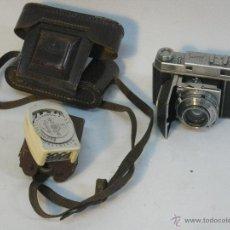 Cámara de fotos: KODAK RETINA II (TYPE 014) Y FOTÓMETRO HORVEX. Lote 42415103