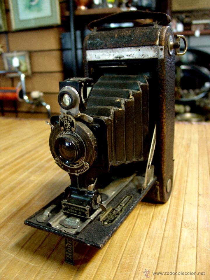 Antigua camara fotogr fica kodak de fuelle 1920 comprar - Camaras fotos antiguas ...