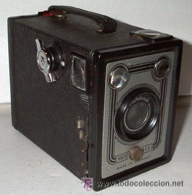 VREDEBORCH (VREDE-BOX) ALEMANA - EXCELENTE ESTADO - COMPLETA Y ENTERA (Cámaras Fotográficas - Antiguas (hasta 1950))