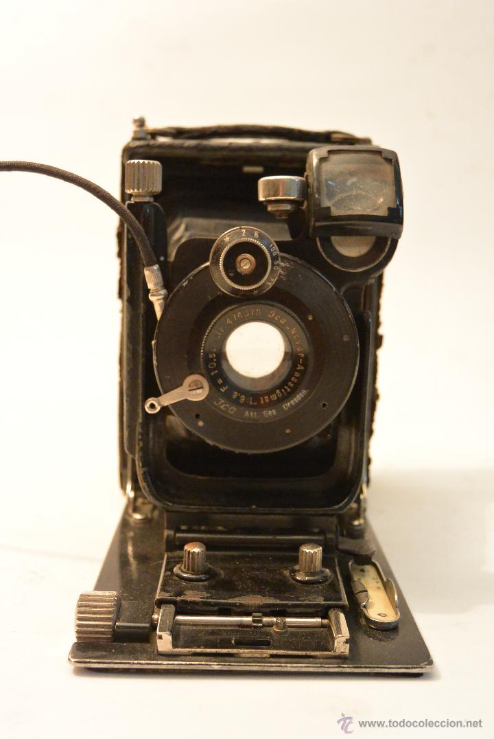 Cámara de fotos: Cámara de fuelle para placas 9x12 Ica Niklas 109 - Foto 2 - 43282337