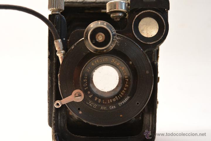 Cámara de fotos: Cámara de fuelle para placas 9x12 Ica Niklas 109 - Foto 4 - 43282337