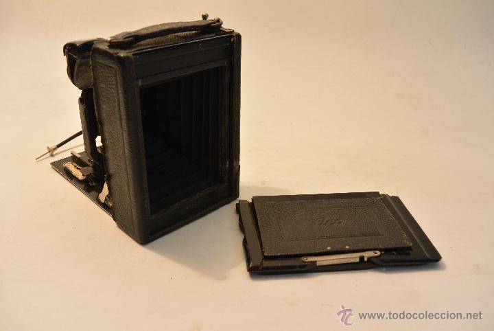 Cámara de fotos: Cámara de fuelle para placas 9x12 Ica Niklas 109 - Foto 8 - 43282337