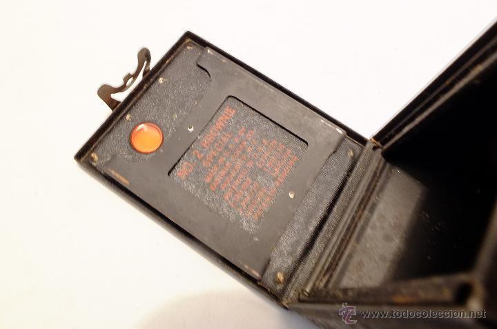 Cámara de fotos: Cuerpo de cámara Kodak Brownie nº 2 para piezas o restaurar - Foto 4 - 43377274