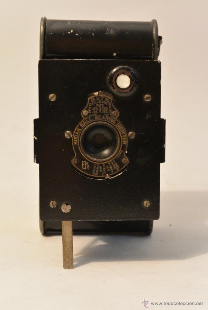 Cámara de fotos: Cámara de fuelle antigua Kodak Vest Pocket Autographic - Foto 3 - 43457870