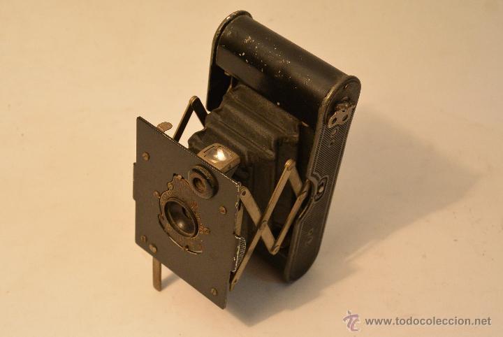 Cámara de fotos: Cámara de fuelle antigua Kodak Vest Pocket Autographic - Foto 4 - 43457870