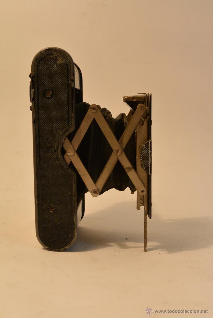 Cámara de fotos: Cámara de fuelle antigua Kodak Vest Pocket Autographic - Foto 6 - 43457870