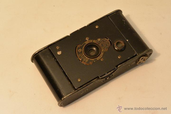 Cámara de fotos: Cámara de fuelle antigua Kodak Vest Pocket Autographic - Foto 8 - 43457870