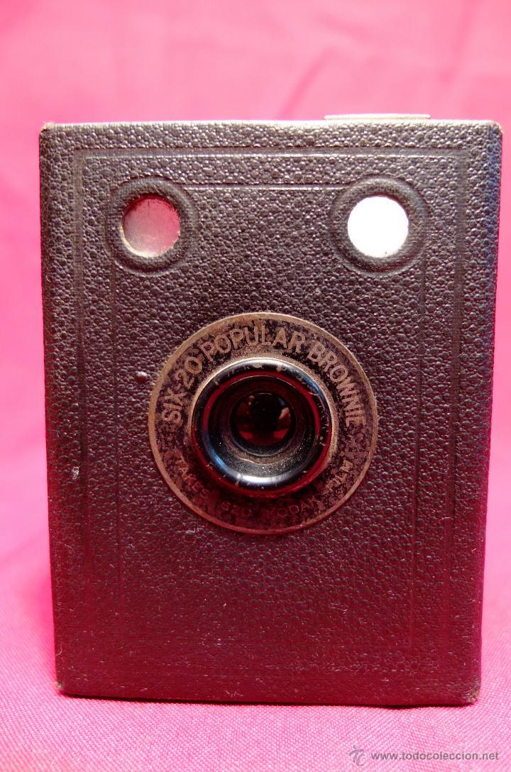 Cámara de fotos: Cámara Kodak SIX-20 Popular Brownie - Foto 2 - 43491597