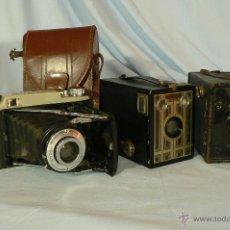 Cámara de fotos: ANTIGUA CAMARA FOTOGRAFICA - LOTE DE CAMARAS FOTOGRAFICAS. Lote 44737488