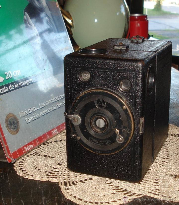 Cámara de fotos: Antigua Cámara Cajón Ernemann Alemana Drp Impecable - Foto 6 - 45007624