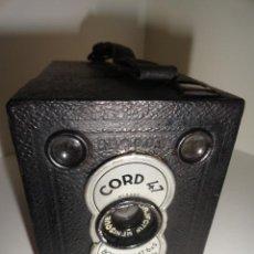 Cámara de fotos: CAMARA CAJON CORD 47 CON FUNDA DE CUERO. Lote 45119244